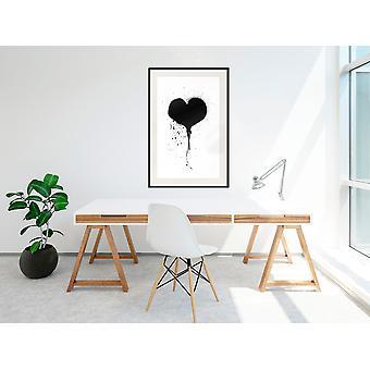 Juliste - Graffiti Heart-30x45