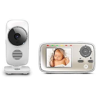 Baby babyfoon Motorola MBP483 met 2,8 inch scherm