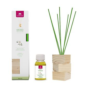 Complete kit natural wood lady of the night reeds + essence + wood base 2 units