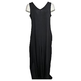 kos duds jumpsuits flexwear v nakke bredt ben svart a389115