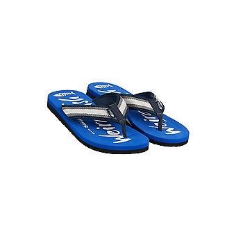 Waterford Printed Flip Flop Vrai Bleu