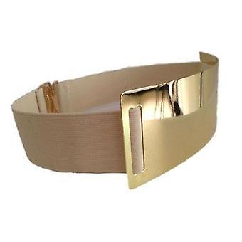 Kuuma suunnittelija vyöt nainen kulta hopea merkki vyö tyylikäs elastinen Ceinture Femme