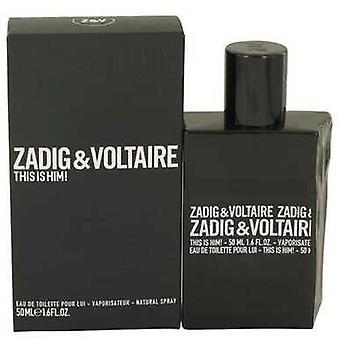 This Is Him By Zadig & Voltaire Eau De Toilette Spray 1.6 Oz (men) V728-536498