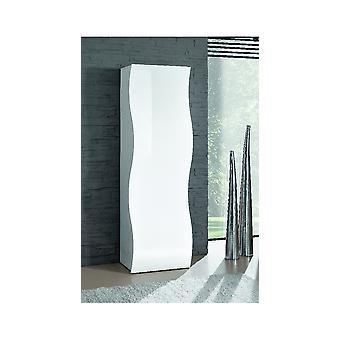 Schrank Welle Farbe Weiß, aus Melaminspäne L63xP40xA187,2 cm