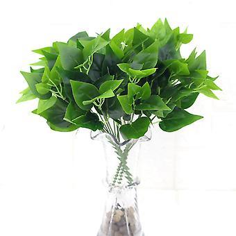 Artificial plant green radish plastic fake green plants 5pcs