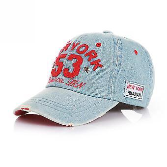 רטרו ג'ינס בייסבול כובע 53 דיגיטלי ניויורק סנאפבק כובע