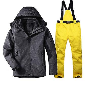 Warm Ski Suit, Snowboarding Jacket Pants Set