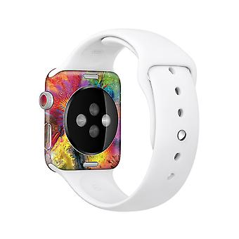 The Mixed Neon Paint Full-body Skin Kit For The Apple Watch