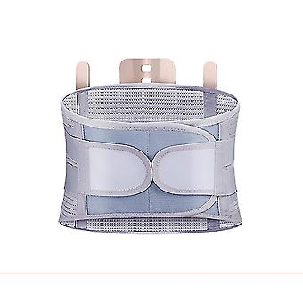 Grey s lumbar support belt disc herniation orthopedic medical strain pain relief corset for back spine decompression brace fa0292