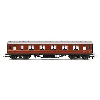 Hornby R4234B BR Ex LMS Corridor 1st Class Coach M1080M 00 Gauge
