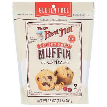 Bobs Red Mill Mix Muffin, Fodral på 4 X 16 Oz