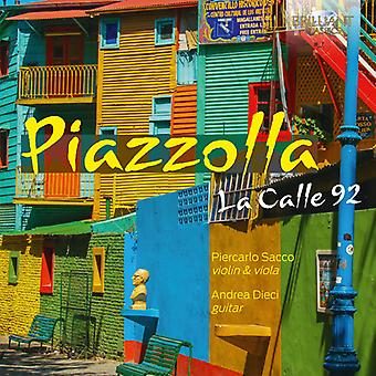 Piazzollz - Calle 92 [CD] USA import