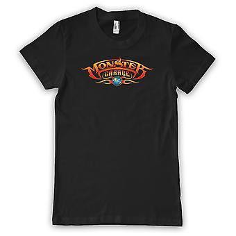 Monster Garage Damen T-Shirt Basic Logo