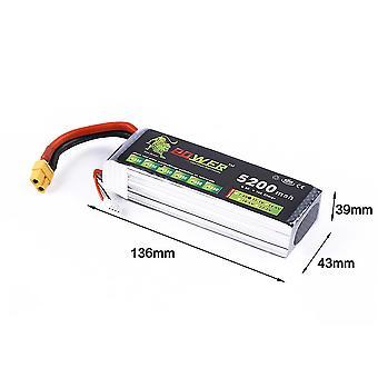 11.1v 5200mah 3s 30c Lipo Li-po Lipoly Batterie für Rc Trex 450 Hubschrauber