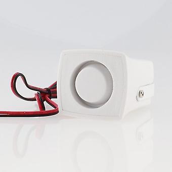 Kabelgebundenes Sirenenhorn für drahtloses Hausalarmsystem