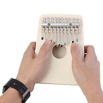 10 مفاتيح kalimba diy عدة باسوود الإبهام البيانو اليدوية مجموعة آلة موسيقية دون ضبط مطرقة للأطفال المبتدئين
