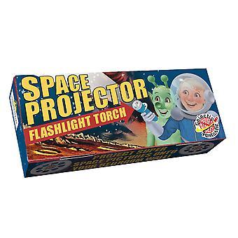 Linterna del proyector espacial Antorcha para niños - Regalo en caja