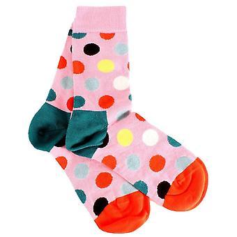 Happy Socks Big Dot Socks - Pink