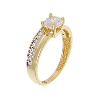 Ring 'Majestic' Two-tone Gold