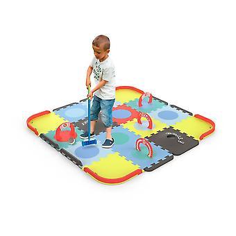 Customisable Mini Croquet Floor Mat Puzzle