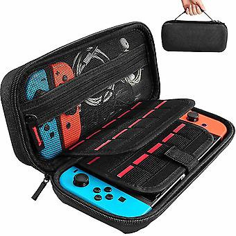 Carrying Storage Case For Nintendo Switch,with 20 Games Cartridges(Black)