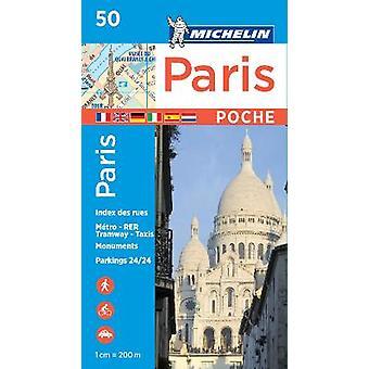 Paris Pocket  Michelin City Plan 50 City Plans Michelin City Plans 50