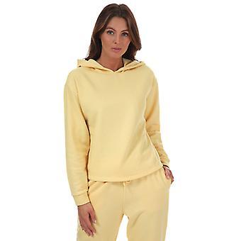 Kvinnors enda bekväma liv hoody i gult
