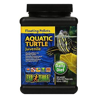Exo Terra Floating Pellets Juvenile Aquatic Turtle Food - 9.3 oz