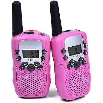 Intercoms pieni talkie-radiopuhelin lapsille nousi 2 huonetta pieni talkie-radiopuhelin lapsille walkie kannettava