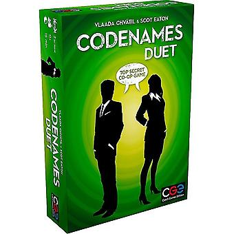 Board games czech games edition 00040cge codenames: duet - the two player word deduction game