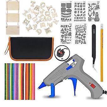 Eu/uk/us 30w regelbare temperatuur elektrische soldeerbout lassen gereedschap kits (Verenigd Koninkrijk)