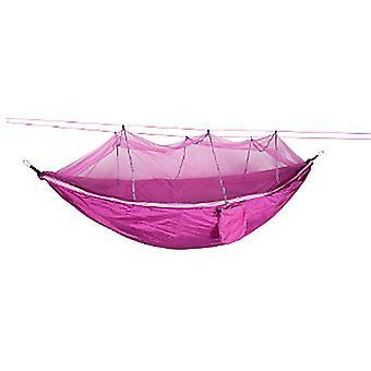 Amaca da campeggio con zanzariera, amache portatili in nylon per backpacking, campeggio, escursionismo, cortile
