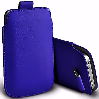 i-Tronixs Premium Stylish Faux Leather Pull Tab Pouch Skin Case Cover For InFocus Epic 1 (5.5