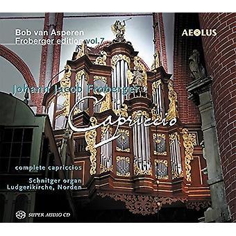 Froberger / Asperen, Bob Van - Bob Van Asperen Froberger Edition: Capriccio 7 [SACD] USA import