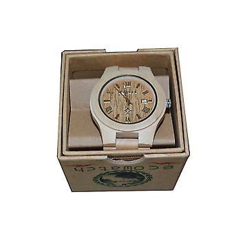 Bewell orologio legno acero acero legno orologio orologio in legno in vero legno regalo idea regalo unico