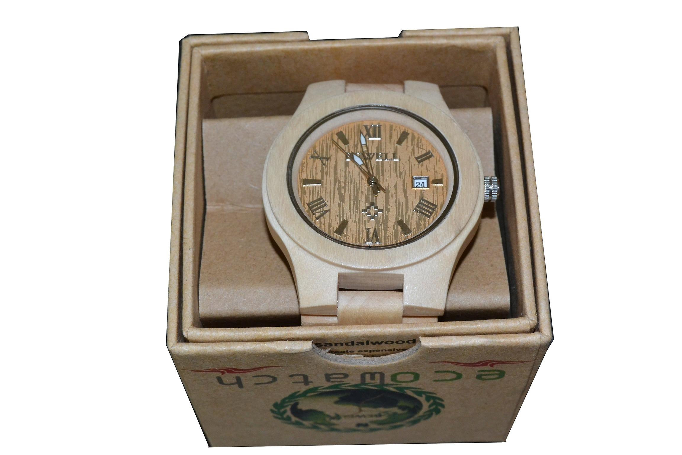 Bewell watch wood Maple maple wood clock wooden clock real wood gift gift idea unique