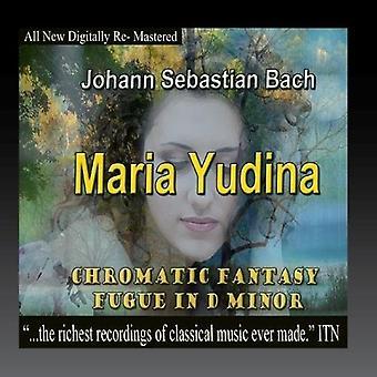 Bach, J.S. / Yudina, Maria - Chromatic Fantasy Fugue en ré mineur [CD] USA import