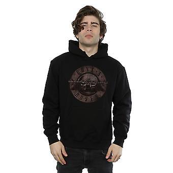 Guns bala sépia Logo Hoodie N Roses masculino