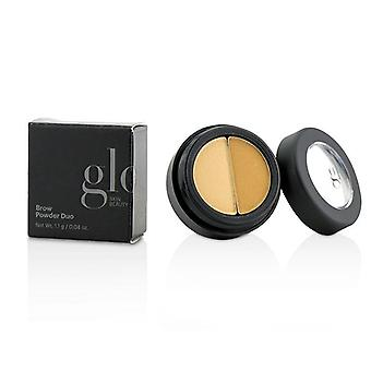 Glo huden skjønnhet Brow pulver Duo - # Blonde - 1.1g/0.04oz