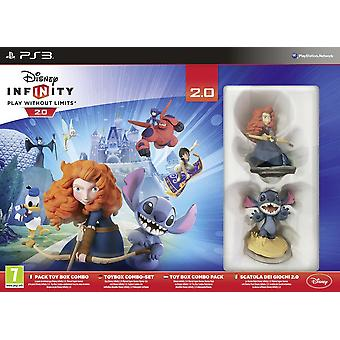 Disney Infinity 2.0 Disney Toybox Pack Starter-Set (PS3)
