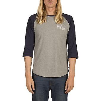 Volcom Swift 3/4 camiseta de manga corta en Índigo