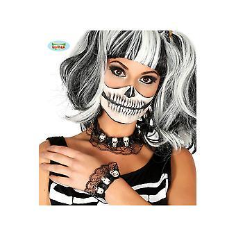 Halloween en horror ketting en armband halloween met schedels