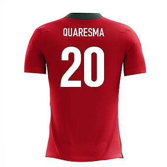 2020-2021 Portugal Airo Concept Home Shirt (Quaresma 20)