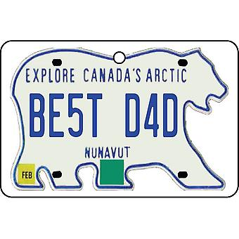 NUNAVUT - mejor papá placa ambientador