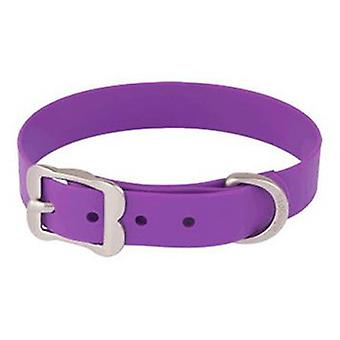 Red Dingo Dog Collar Vivid PVC Purple L (Dogs , Collars, Leads and Harnesses , Collars)