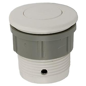 Waterway 650-3000 1.5-Inch Hole Sie 2-Inch FD Air Button Flush - White