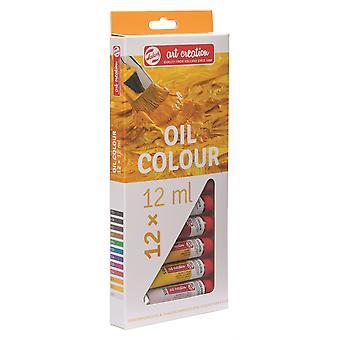 Talens Art Creation Oil Colour Set 12 x 12ml