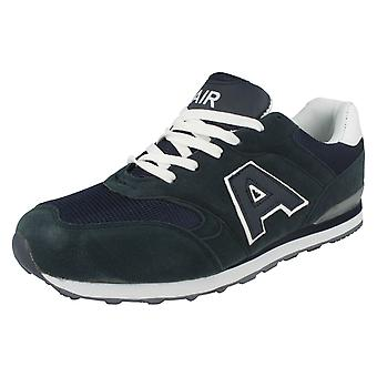 Mens Air Tech Lace Up Trainers Campus