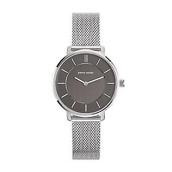 Pierre Cardin ladies watch wristwatch Brochant Femme silver PC107872F05