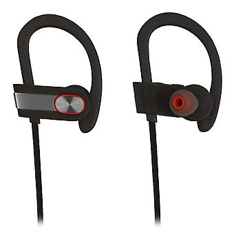REYTID Wireless Sports Earphones w/ Mic et Vol Control - HD Sound Noise Isolation Working Out Gym Sweatproof Behind-Ear Headphones Bluetooth Earbuds Headset Compatible avec iPhone et Android